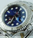 Begagnad-Rolex-Yacht-master-blå-detalj-urtavla-1