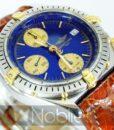 Begagnad-Breitling-Chronomat-b13048-90-bla-detalj-urtavla