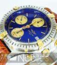 Begagnad-Breitling-Chronomat-b13048-90-bla-detalj-urtavla-2