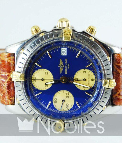 Begagnad-Breitling-Chronomat-b13048-90-bla-front-liggande