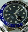 Begagnad-Rolex-GMT-Master-II-116710BLNR-14-detalj-urtavla