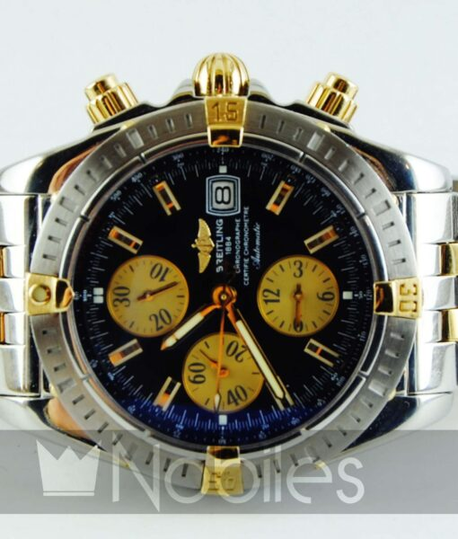 Begagnad-Breitling-Chronomat-Evolution-B13356-front-liggande